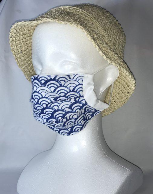 和風布マスク 販売の画像