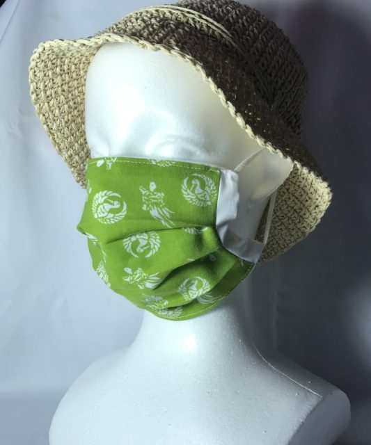 おしゃれな和風布マスク販売 の画像