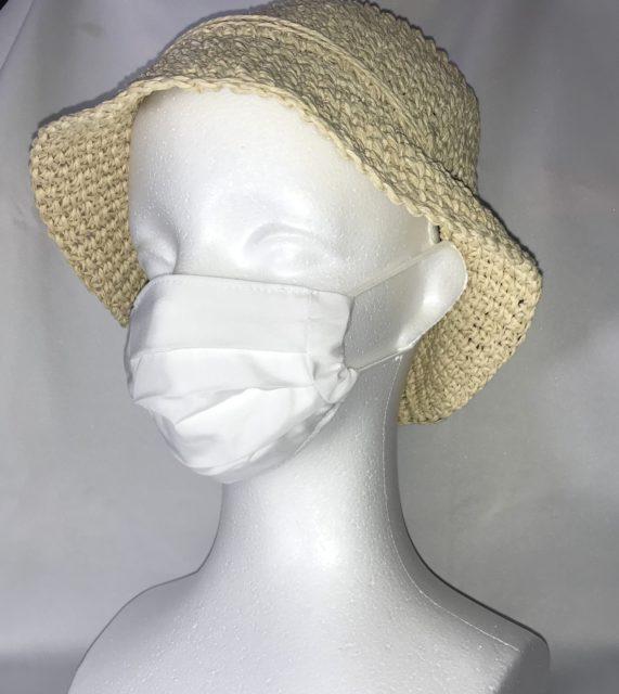 手作り フランス風布マスク 販売の画像