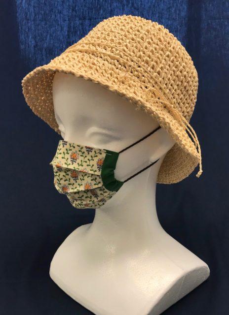 キッズ・子供用 Sサイズのおしゃれな布マスク フランス風の画像