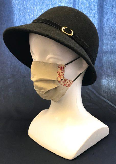 夏におすすめ 軽量布マスク Recommandé en été, Masque léger en tissuの画像