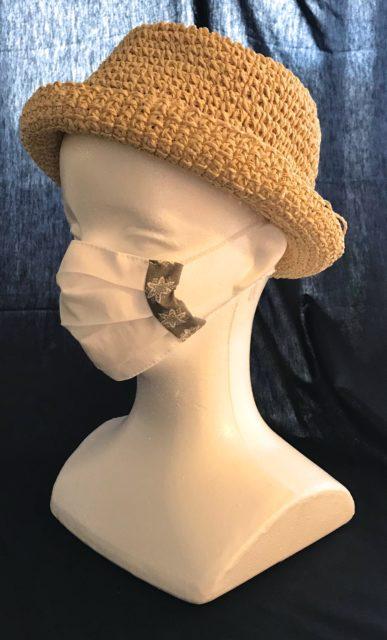 夏におすすめ 涼感布マスク Recommandé en été, Masque gaze xylitolの画像