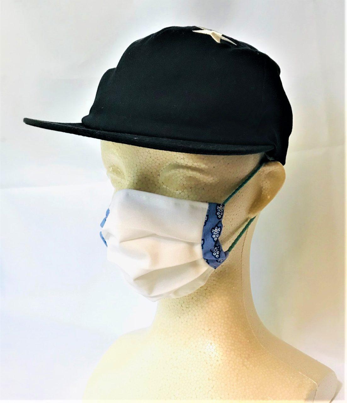 フランス風布マスク Masque à la françaiseの画像