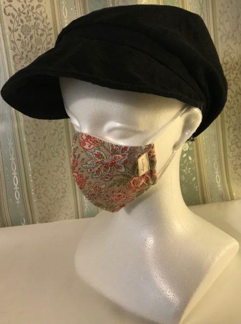 オリジナルデザイン 軽量布マスク    Masque léger en tissu,   Forme originale の画像