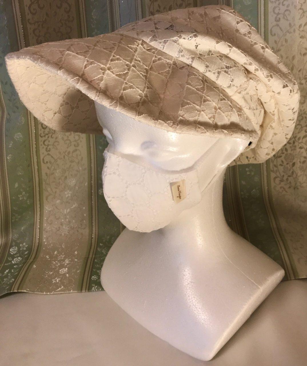 オリジナルデザイン 軽量布マスク  Forme originale,  Masque en tissu légerの画像