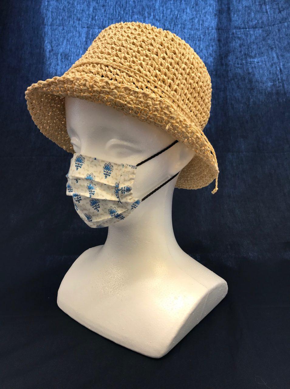 フランス風布マスク キッズ・子供用 Sサイズの画像